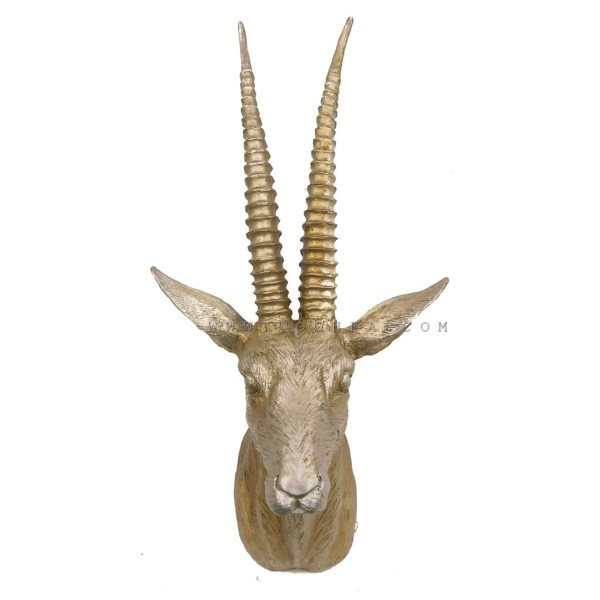 رأس غزال جداري