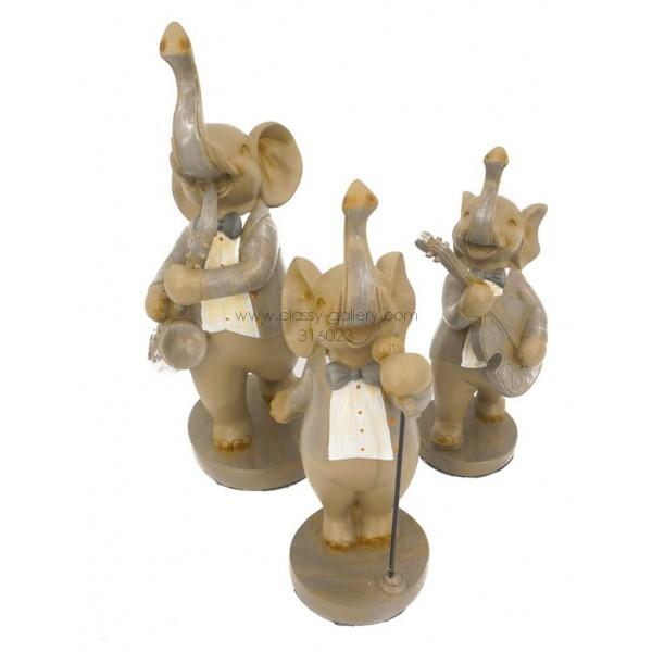 طقم 3 افيال