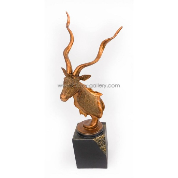 تمثال راس غزال