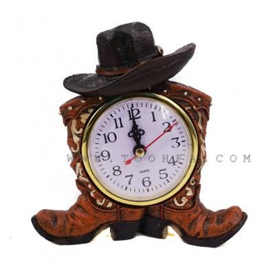 ساعة بشكل حزاء كاوبوي