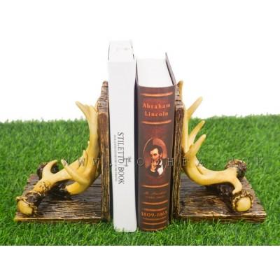 مسندة كتب بشكل قرني غزال
