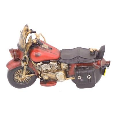 ديكور جداري بشكل دراجة بخارية