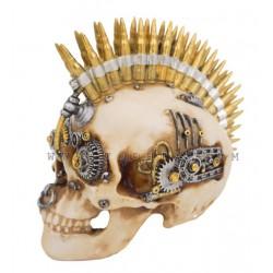 ديكور بشكل جمجمة مزينة بأشكال رصاص