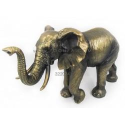 تمثال فيل كبير لون نحاسي
