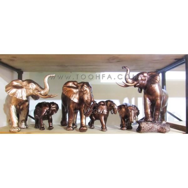 طقم تماثيل فيل