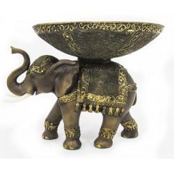 طبق تقديم بشكل فيل