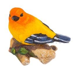 ديكور بشكل عصافير ملونة