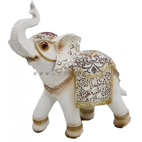 تحفة فيل بشكل فيل مزخرفة