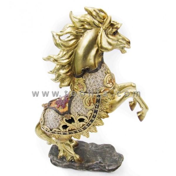 تمثال حصان. المقاس :21.5*8*33.5