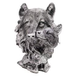 ديكور طاولة رأس ذئب