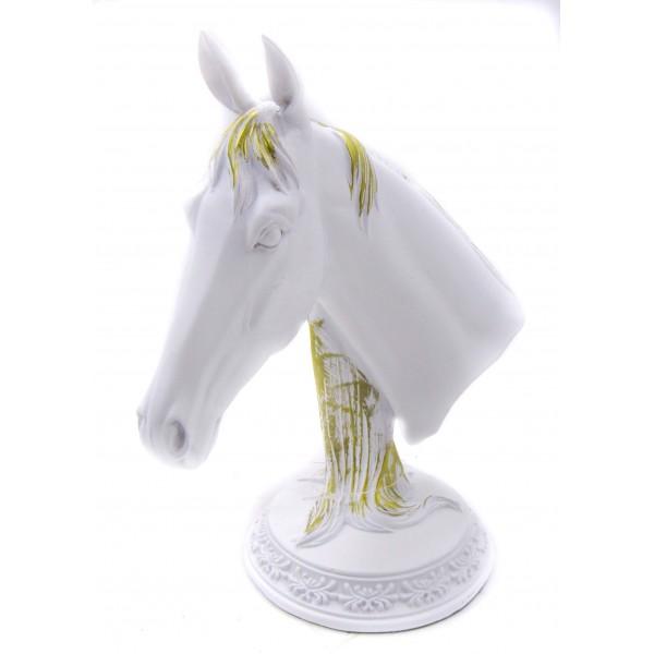 ديكور طاولة رأس حصان - أسود. المقاس :22*13*26