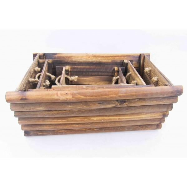 أحواض زراعية خشبية. المقاس :50*30*22  38*23*18 27*16*15