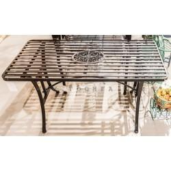 طاولة حديقة معدنية