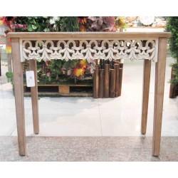 طاولة مدخل خشبية