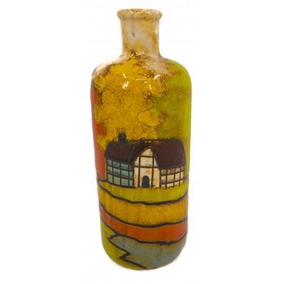 زجاجات خزفية