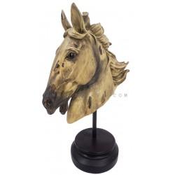 ديكور بشكل رأس حصان