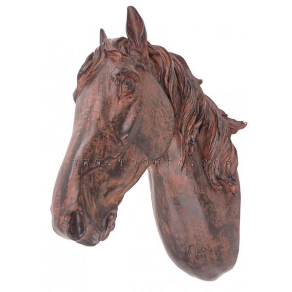 ديكور جداري بشكل رأس حصان