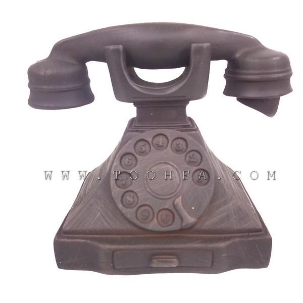 ديكور بشكل هاتف قديم