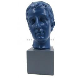 ديكور رأس رجل ازرق