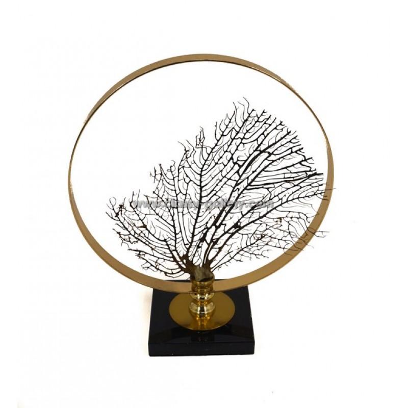 زينة طاولة بشكل فرع شجرة