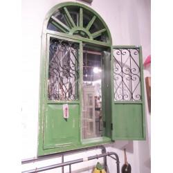 مرآة بشك نافذة خشبية 120*60