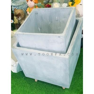 طقم احواض زراعية اسمنتية عدد 2
