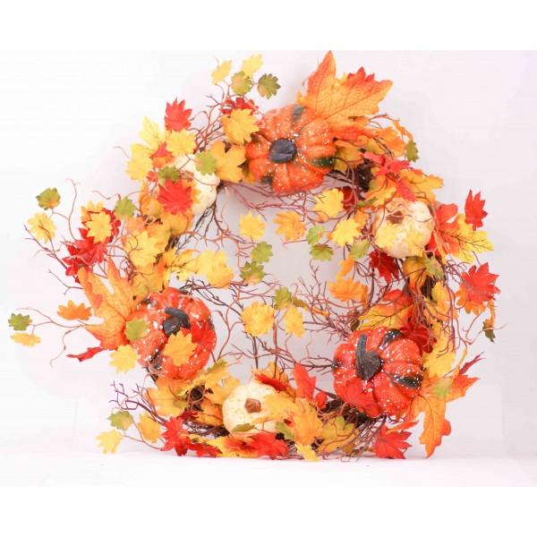 طوق جداري أوراق الخريف