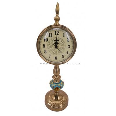 ساعة طاولة ذهبية