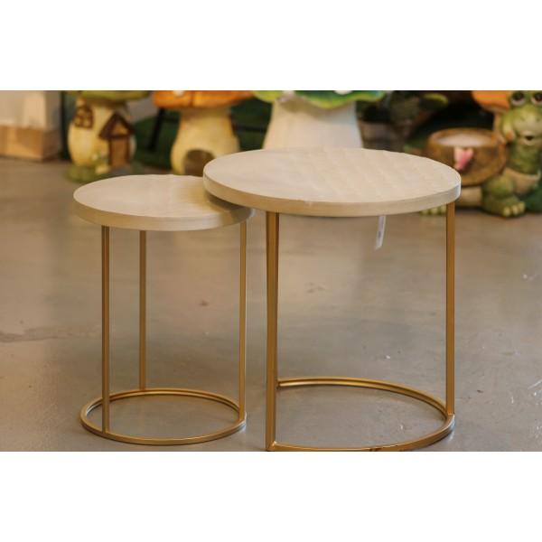 طقم طاولات تقديم مقاس : 47.4*47.4*46CM