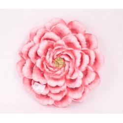ديكور جداري وردة اللون وردي مقاس  30.8*30*8.5CM