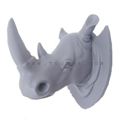 تعليقة  رأس وحيد القرن لون سماوي