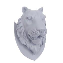 تعليقة رأس نمر لون سماوي