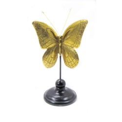 ديكور فراشة - ذهبي. المقاس :12*9.3*23. المقاس :12*9.3*23