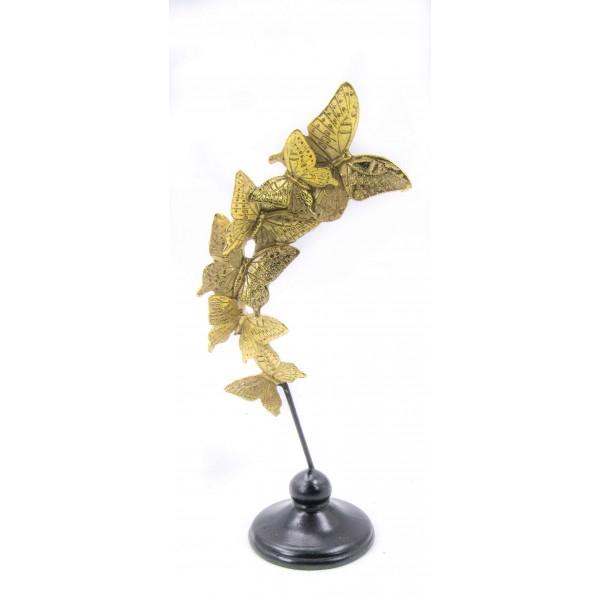 ديكور فراشات ذهبية. المقاس :14*9.5*33. المقاس :14*9.5*33