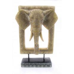 ديكور وجه الفيل. المقاس :24.5*9.2*36. المقاس :24.5*9.2*36