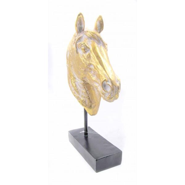 ديكور رأس الحصان. المقاس :18*7*36. المقاس :18*7*36