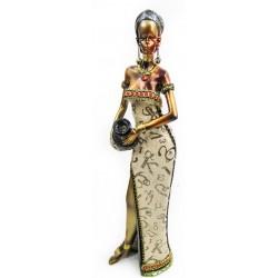 تحفة على شكل إمرأة أفريقية