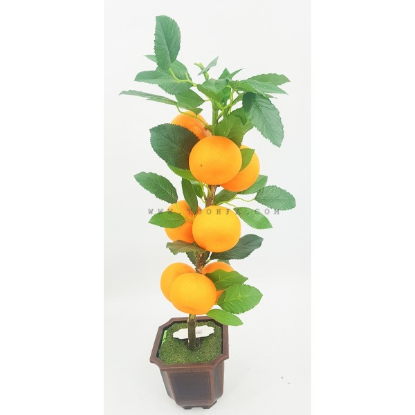شجرة برتقال صناعية