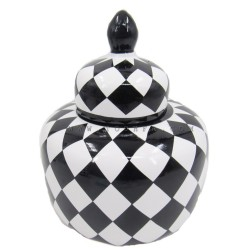 فازة بنقوش شطرنج صغير