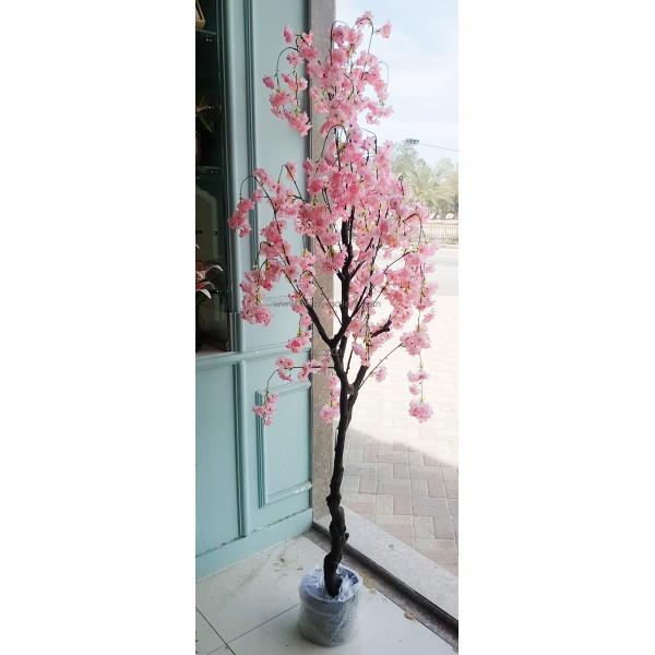 شجرة ورد صناعية