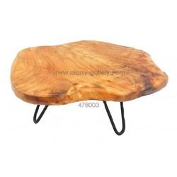 قطعة خشب طبيعي