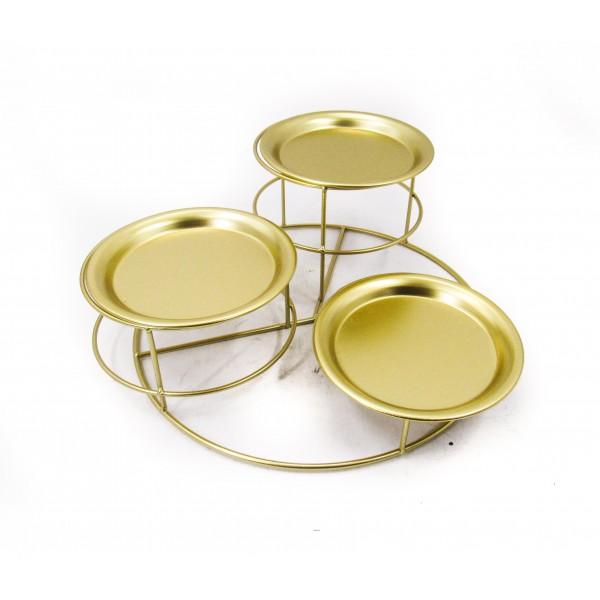 طاولات تقديم معدنية