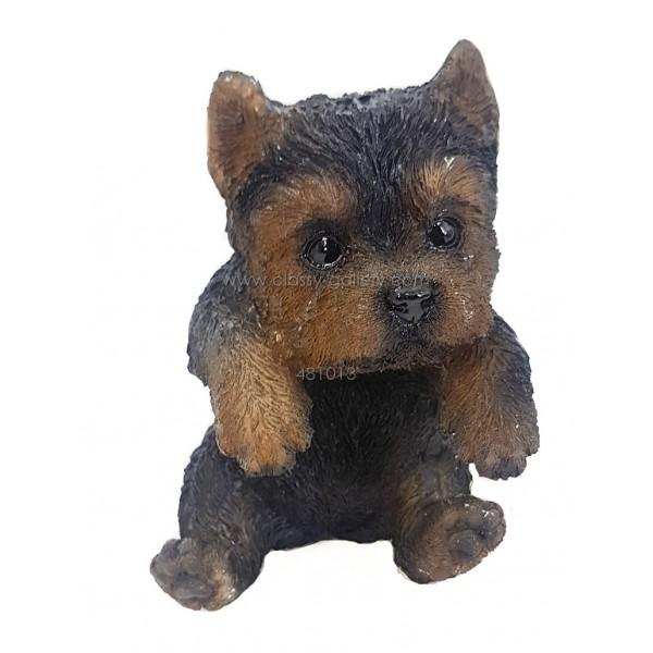 تحفة ديكور بشكل كلب