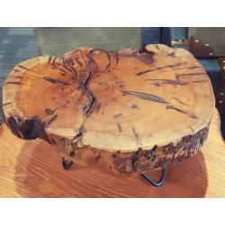 ستاند تقديم خشب طبيعي φ23-24CM