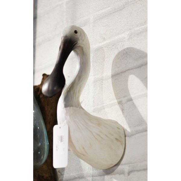 ديكور رأس بشكل رأس طائر