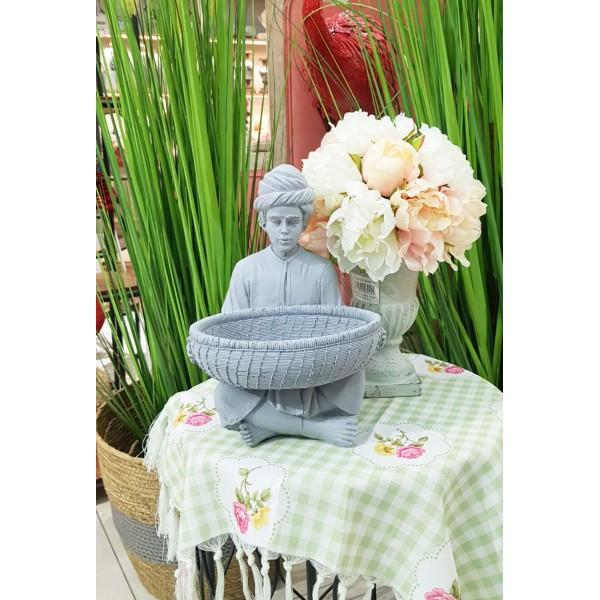 تمثال العمدة رمادي