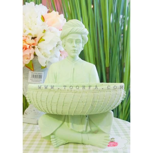 تمثال العمدة أخضر