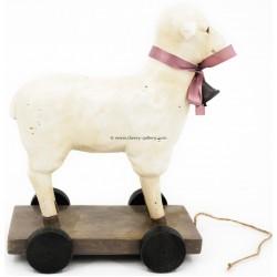 تحفة خروف بعجلات ( كبير)