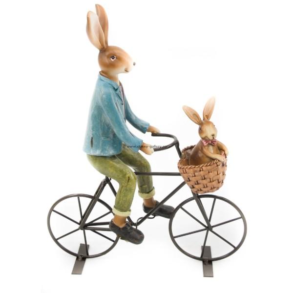 تحفة أرنب على دراجة