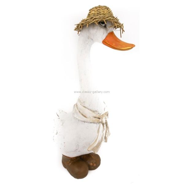 تحفة الوزة ذات القبعة